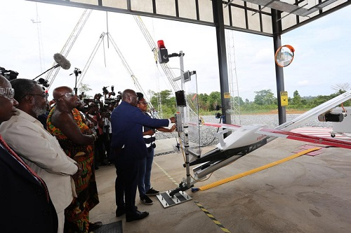 Veep launches first drone services … to enhance healthcare delivery