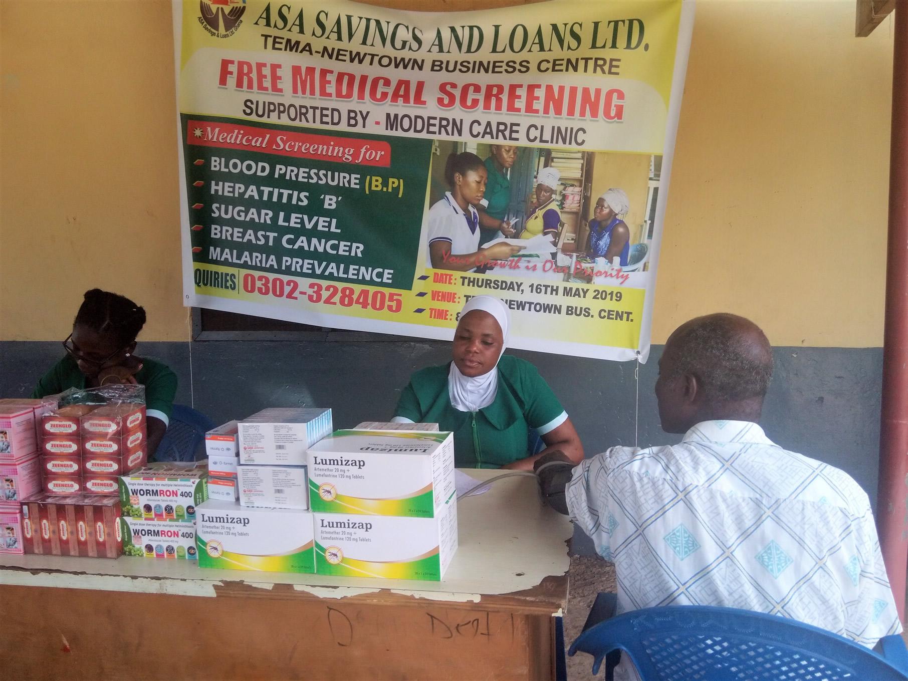 ASA Savings & Loans Organises FMS for Tema New Town and Chantan