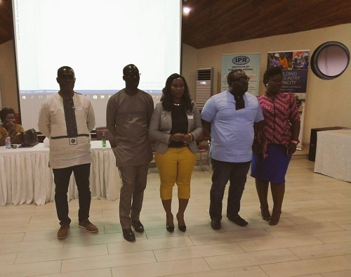 IPR elects new officers