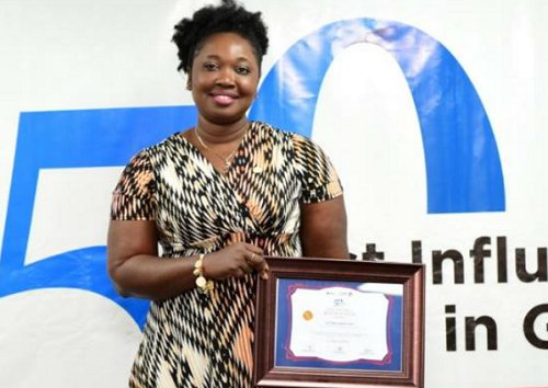 Victoria Abena Takyi named among 50 most influential CMOS in Ghana