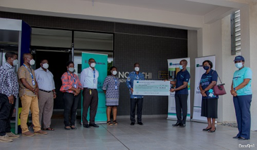 Prudential Bank donates GH¢ 100,000 to Noguchi Memorial Institute for Medical Research