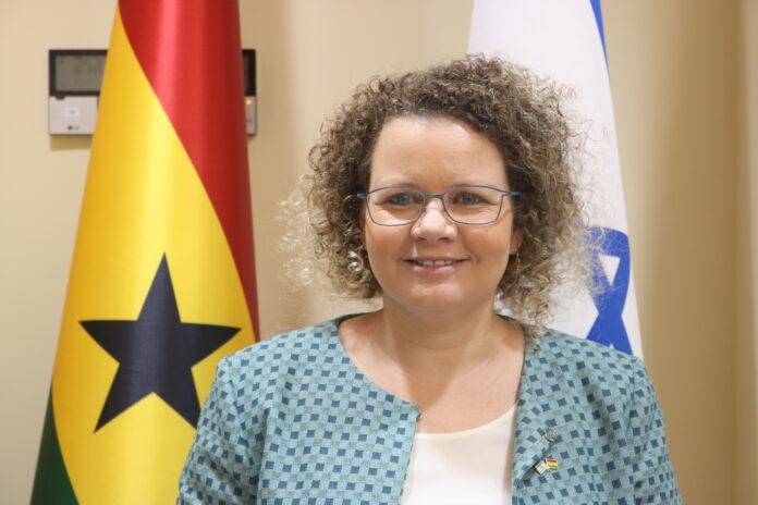 Shani Cooper-Zubida is the Israeli Ambassador to Ghana, Liberia and Sierra Leone.