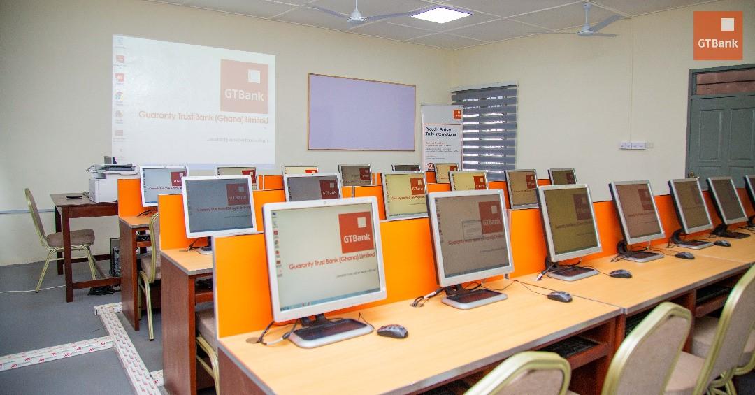 GT Bank hands over refurbished computer lab to Ayi Mensah Basic School