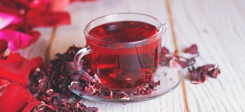My Hibiscus Tea, my cardiovascular health!