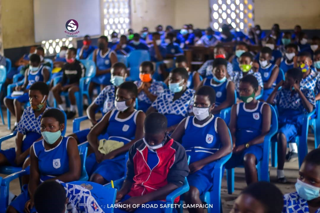 Face of Road Safety urges students to be ambassadors of road