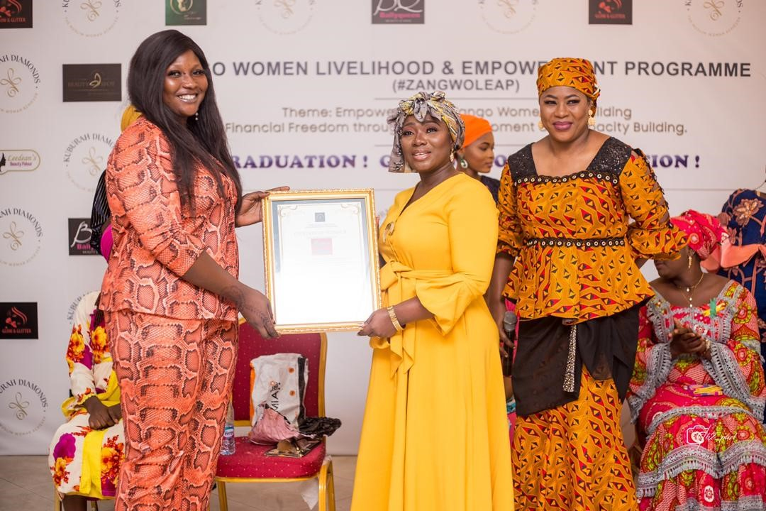ZANGWOLEAP holds maiden graduation for 50 beneficiaries